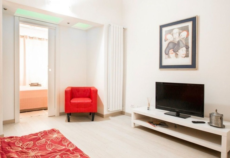 Foscolo 1, Viareggio, Apartamento, 1 habitación, Sala de estar