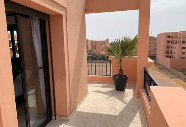 Appartement Gueliz, Marrakech, Апартаменты, 2 спальни, Балкон