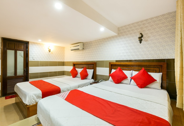 OYO 261 Binh Dung Hotel, Ho Chi Minh City, Superior fyrbäddsrum, Gästrum