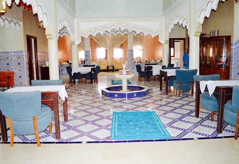 Riad Sadoq, Taouz, Interni dell'hotel