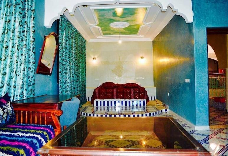 Riad Sadoq, Taouz, ห้องสวีท, เตียงใหญ่ 1 เตียง, ห้องพัก