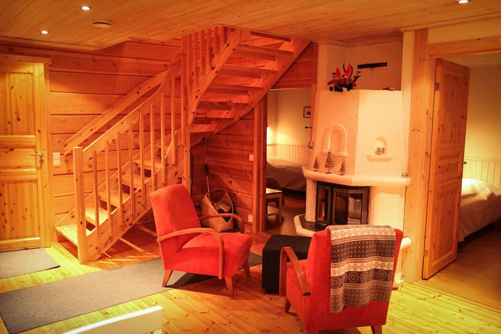 Chalet, 4 Bedrooms, Sauna (Suopursu) - Living Room