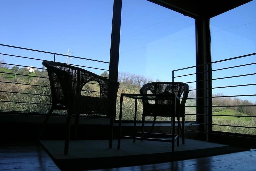 Departamento, 1 habitación (Verde) - Terraza o patio