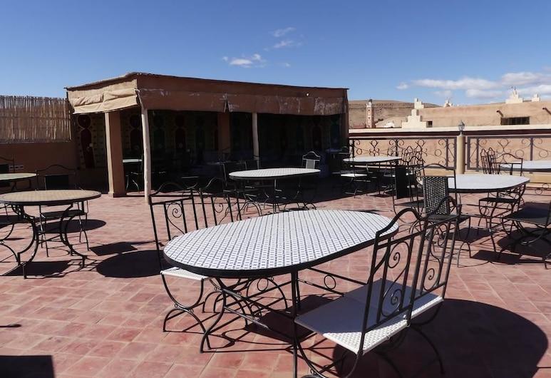 Panoramique Chez Brahim, Ait Ben Haddou, Třílůžkový pokoj, Terasa
