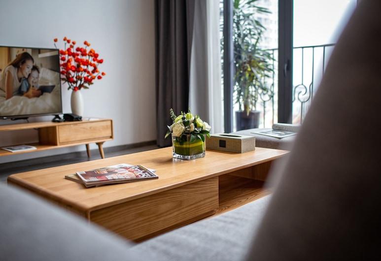 河內西湖頂層開放式客房飯店, 河內, 行政樓中樓客房, 1 間臥室, 客房