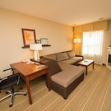 套房, 1 張加大雙人床, 無障礙, 非吸煙房 (One-Bedroom) - 客廳