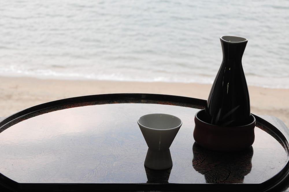 Tradicinio tipo kambarys, vaizdas į vandenyną (Japanese Style, for 10 Guests) - Vaizdas iš svečių kambario