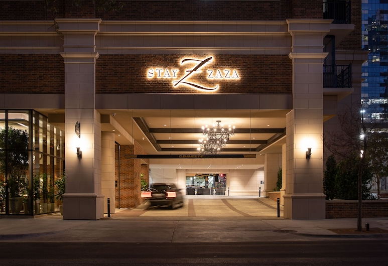 Hotel ZaZa Austin , Austin, Hotel Front – Evening/Night