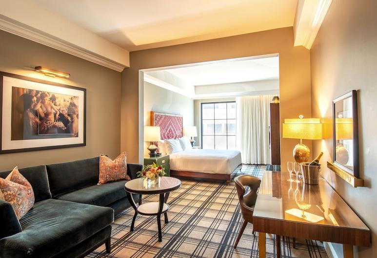 Hotel ZaZa Austin , Austin, Kamar Premium, 1 Tempat Tidur King, Kamar Tamu
