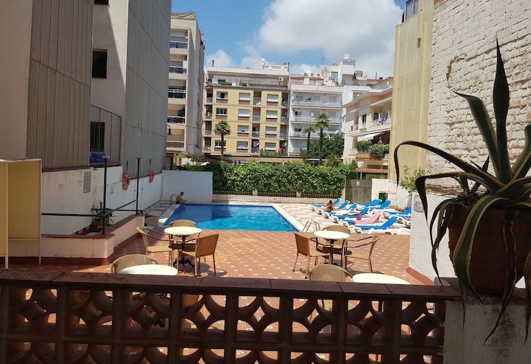 Hotel Castella, Lloret de Mar, Terrace/Patio