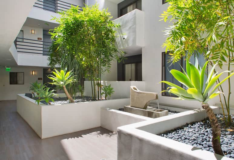 Luxury Westwood Apartments, Los Angeles, Luxury Apart Daire, 1 Yatak Odası, Bahçe Manzaralı, Bahçe Manzaralı