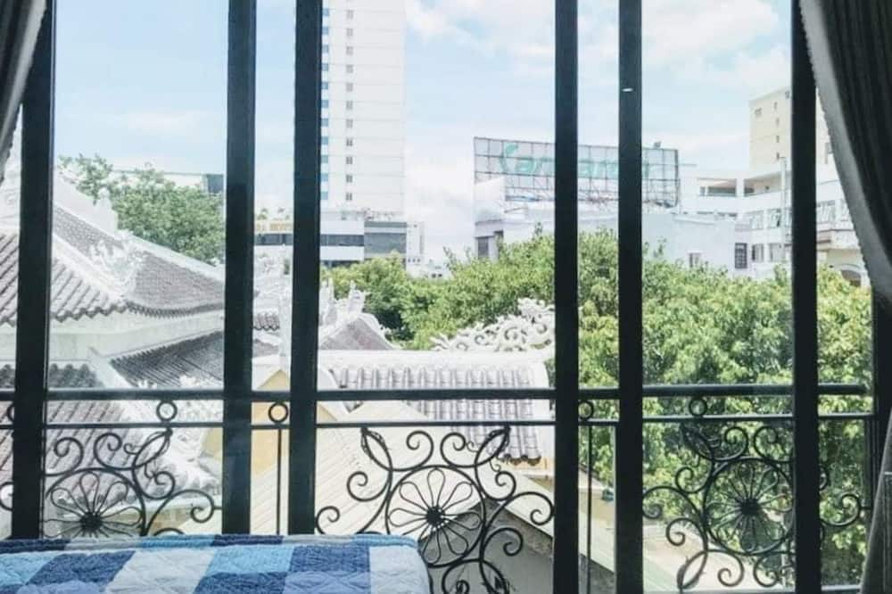 Superior-Doppelzimmer, 1 Queen-Bett, Balkon - Blick vom Balkon