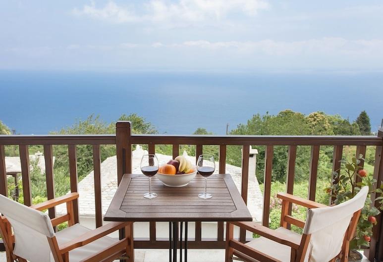 Tampakeika, Zagora-Muresi, Apartament typu Superior Suite, 1 sypialnia, widok na morze, Balkon
