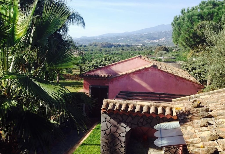 Villa del Nespolo, Fiumefreddo di Sicilia, Vistas aéreas