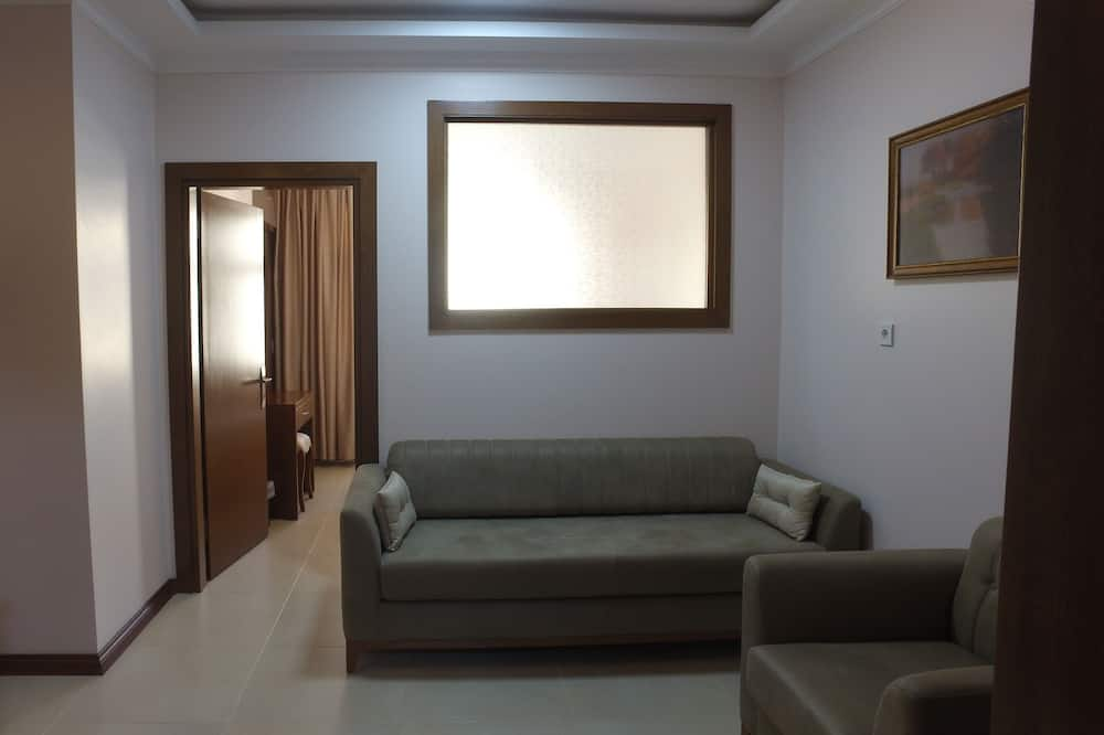 סוויטה משפחתית - אזור מגורים