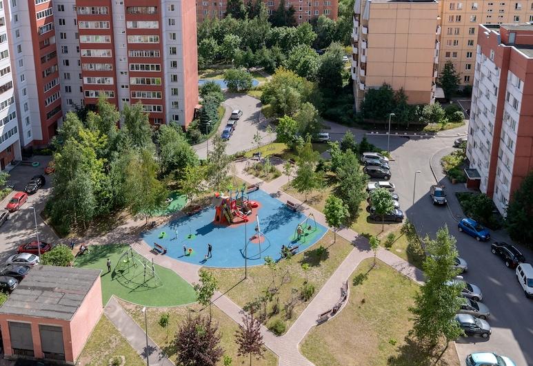 FlatStar Bogatyrskiy 22k1, St. Petersburg, Appartement, Uitzicht op binnenplaats