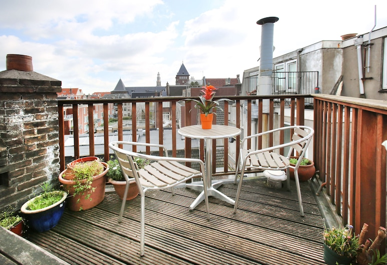 Cozy Comfortable Studio At The Canals, Amsterdam, Comfort-studiolejlighed, Terrasse/patio