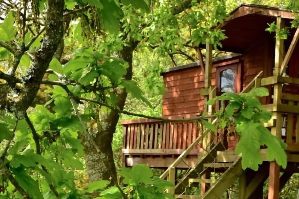 Romantický dom v korune stromu - Balkón