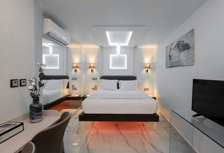 Athens Starlight Hotel, Athens, Junior Suite, Jetted Tub, Bilik Tamu