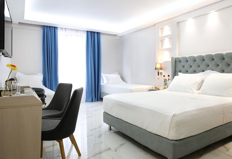 Athens Starlight Hotel, Athene, Deluxe vierpersoonskamer, Kamer