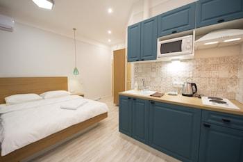 基輔理想設計公寓酒店的圖片
