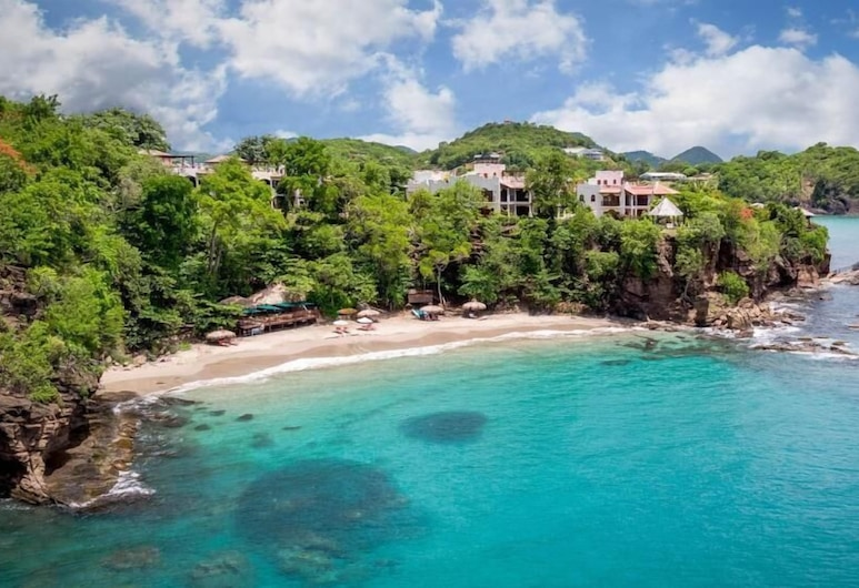 Fairwind Villa - Ideal for Couples and Families, Beautiful Pool and Beach, Gros Islet, Strand