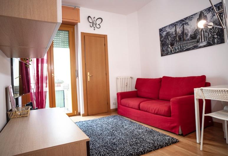 Cenisio apartment, Μιλάνο, Διαμέρισμα, 1 Υπνοδωμάτιο, Περιοχή καθιστικού