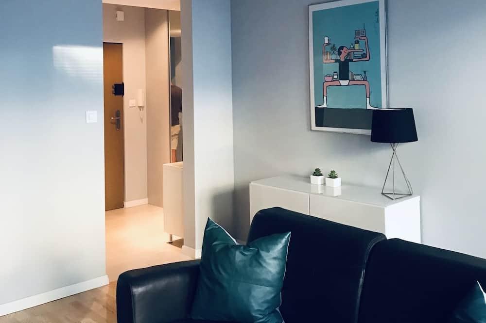 Deluxe Apartment, 1 Bedroom, Non Smoking, Kitchen - Living Room