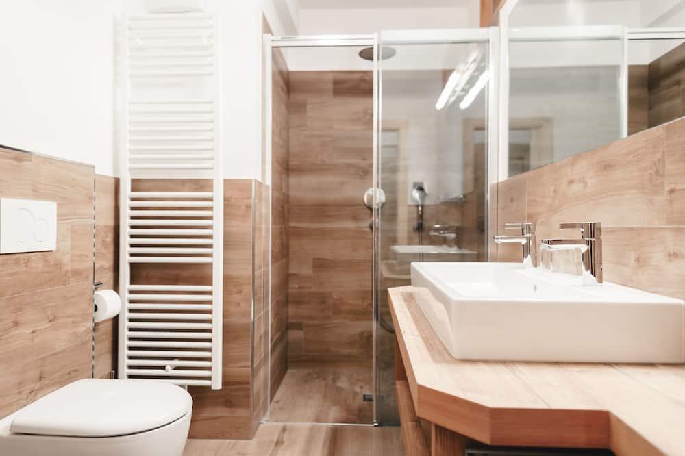 Triple Room (Seceda G) - Bathroom