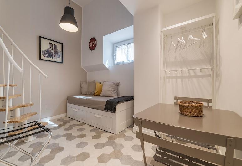 Trastevere Charming Duplex, Rome, Duplex, 1 Bedroom, Room