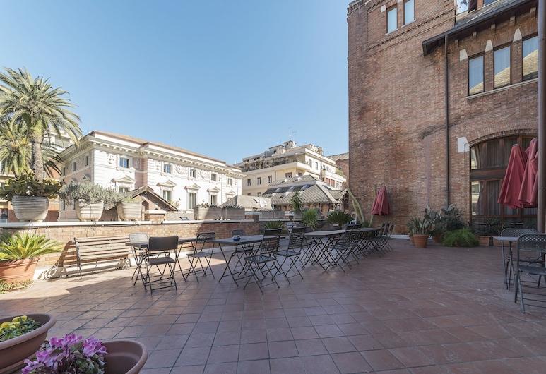 Villa Marignoli Charming Flats, Roma, Parco della struttura