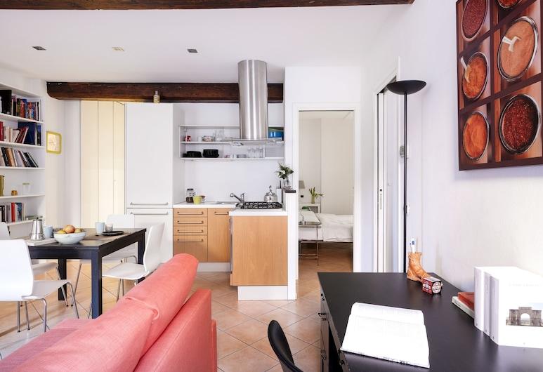 波隆那米拉索爾公寓酒店, 波隆那, 公寓, 2 間臥室, 客廳