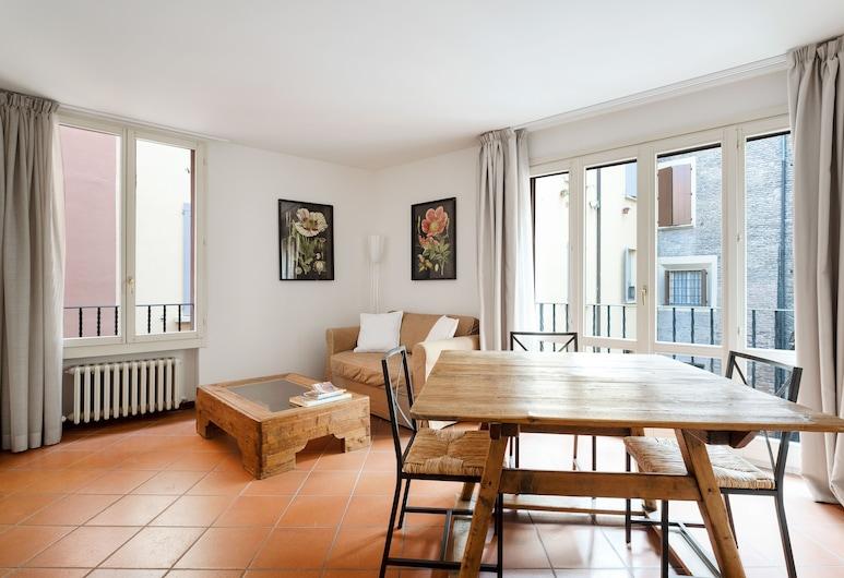 Lo Scrigno di Vicolo Mandria, Bologna, Căn hộ, 1 phòng ngủ, Phòng khách