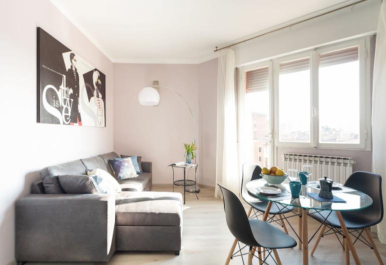Fiera Bologna Flamingo Apartment, Bologna, Căn hộ, 3 phòng ngủ, Phòng khách