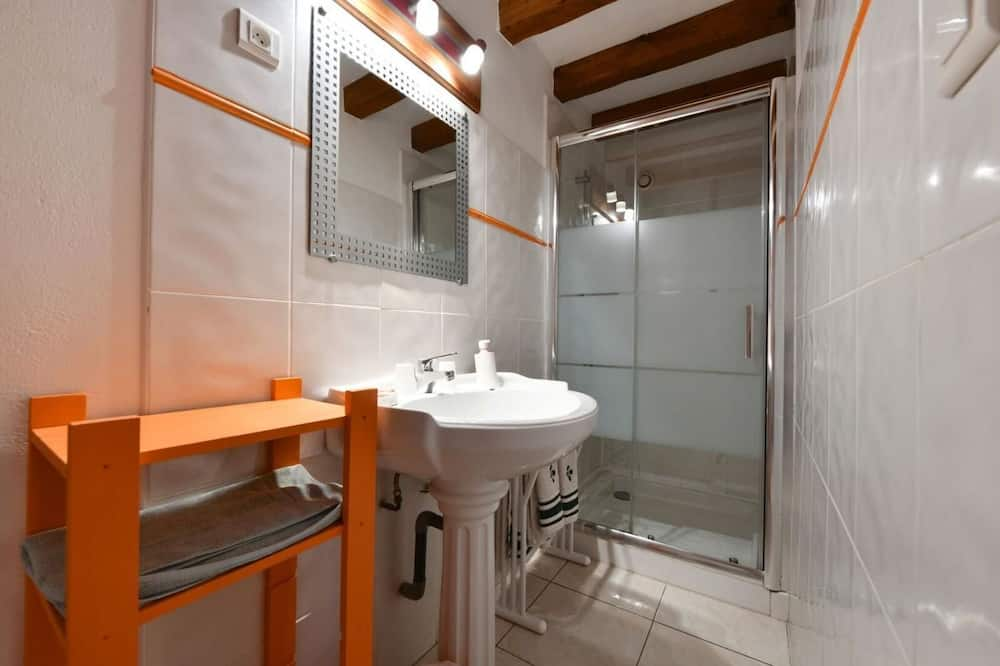 Двухместный номер с 1 двуспальной кроватью (Itsasoa) - Ванная комната