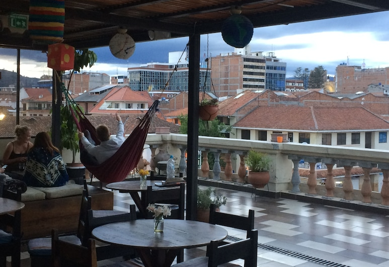 El Cafecito Hostel Cuenca, Cuenca, Terraza o patio