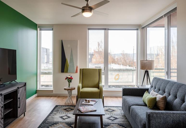 Stay Alfred at Nexus PDX, Portland, Appartement Standard, 2 chambres, Salle de séjour