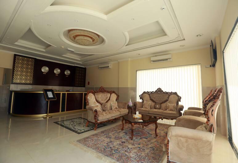 Al Dhiyafa Palace Hotel Apartment, Sib, Rezeption