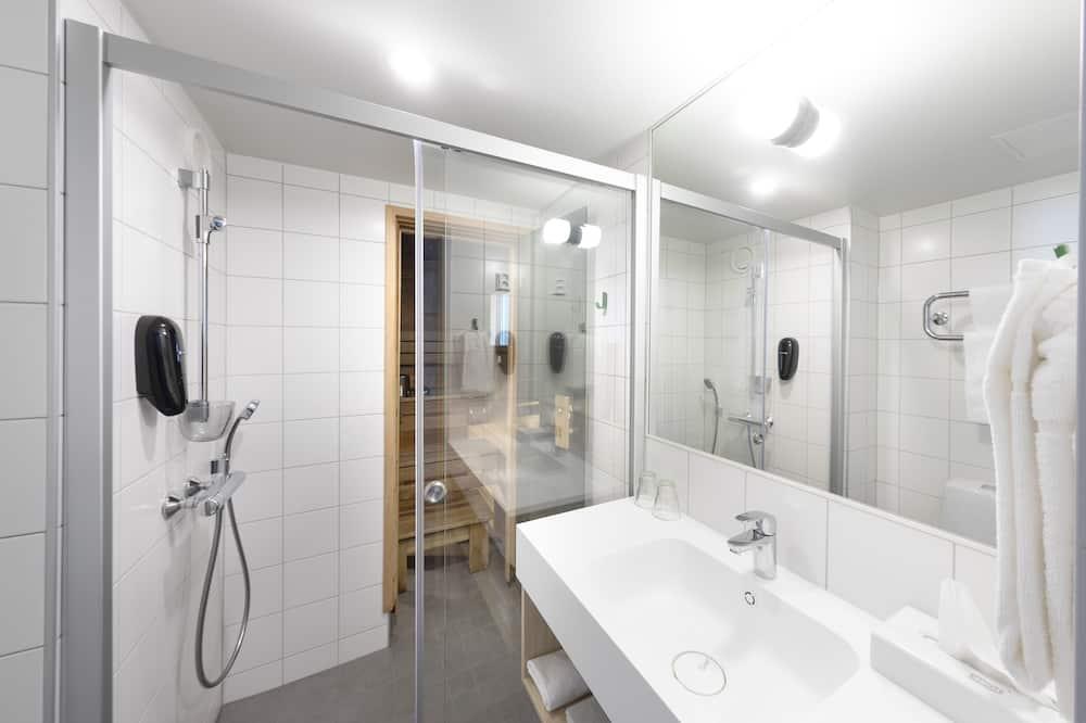 Junior Suite, Sauna - Bathroom
