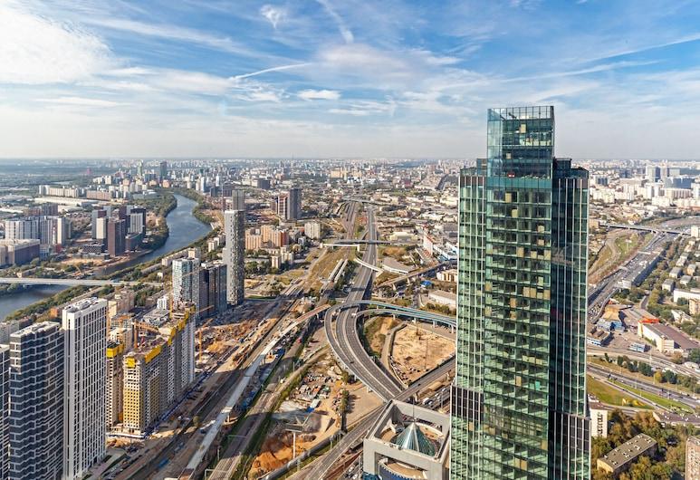 Moscow City 74 Floor, Moskwa, Apartament typu Panoramic, 1 sypialnia, dla niepalących, widok na miasto, Pokój