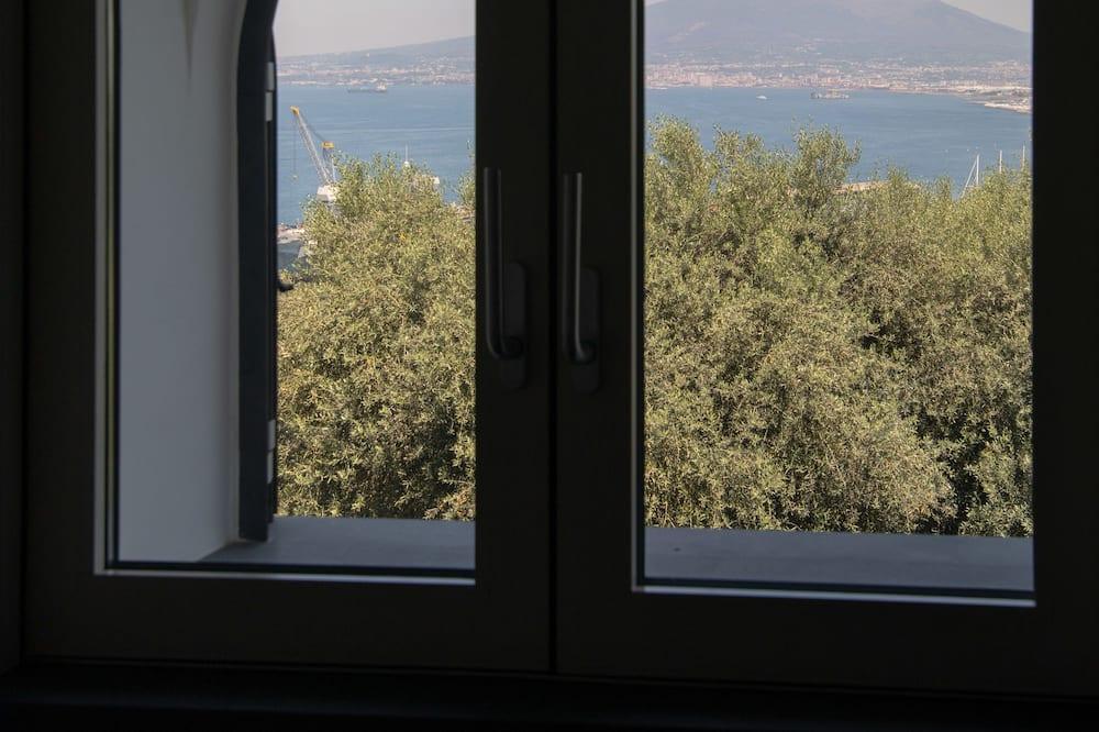 Design-Apartment, 2Schlafzimmer, Buchtblick - Ausblick vom Zimmer