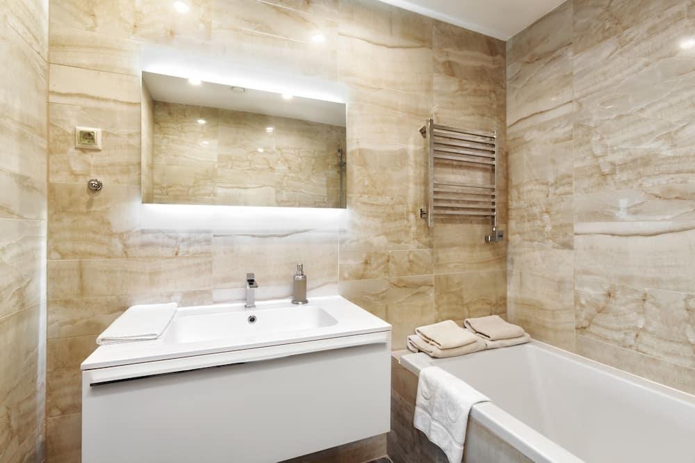 全景公寓, 1 间卧室 - 浴室