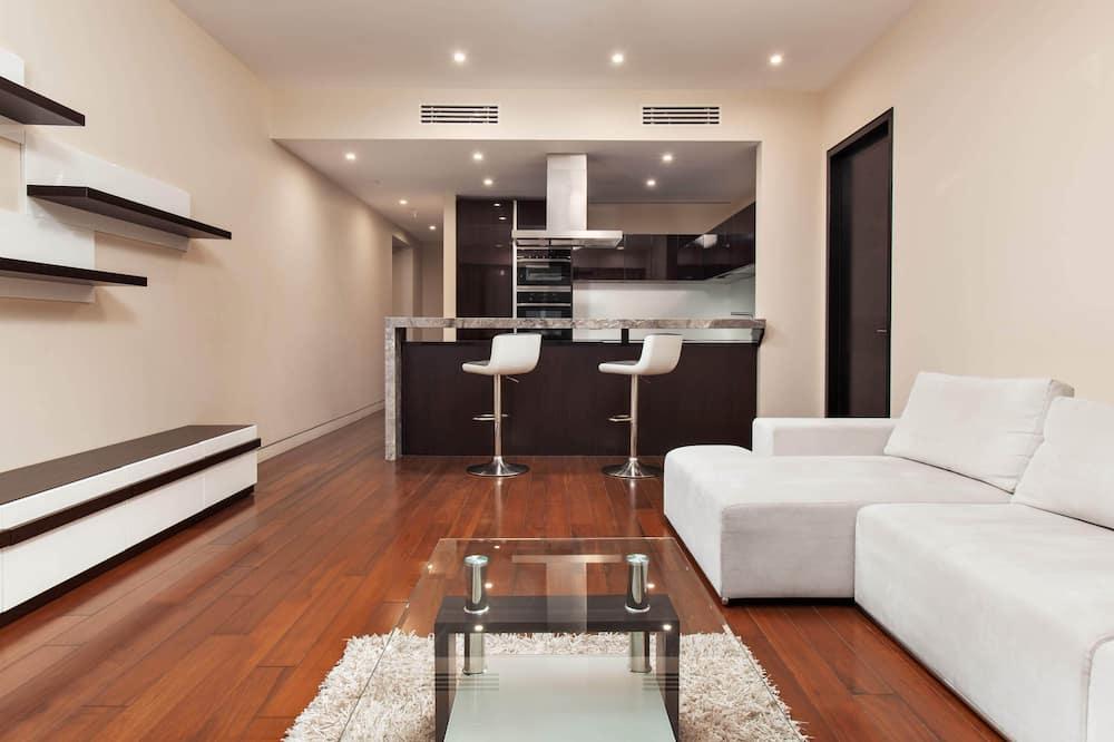 经典公寓, 1 间卧室 - 起居区