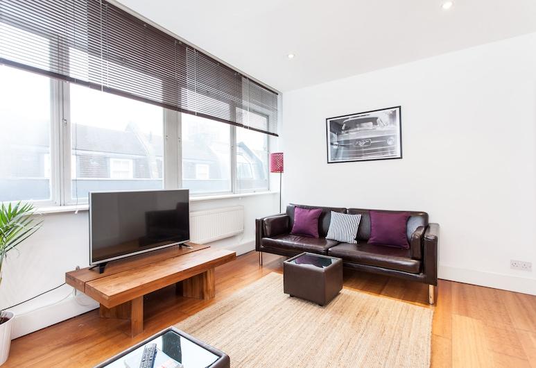 伯維克街及牛津街寬敞公寓酒店, 倫敦, 家庭公寓, 客廳