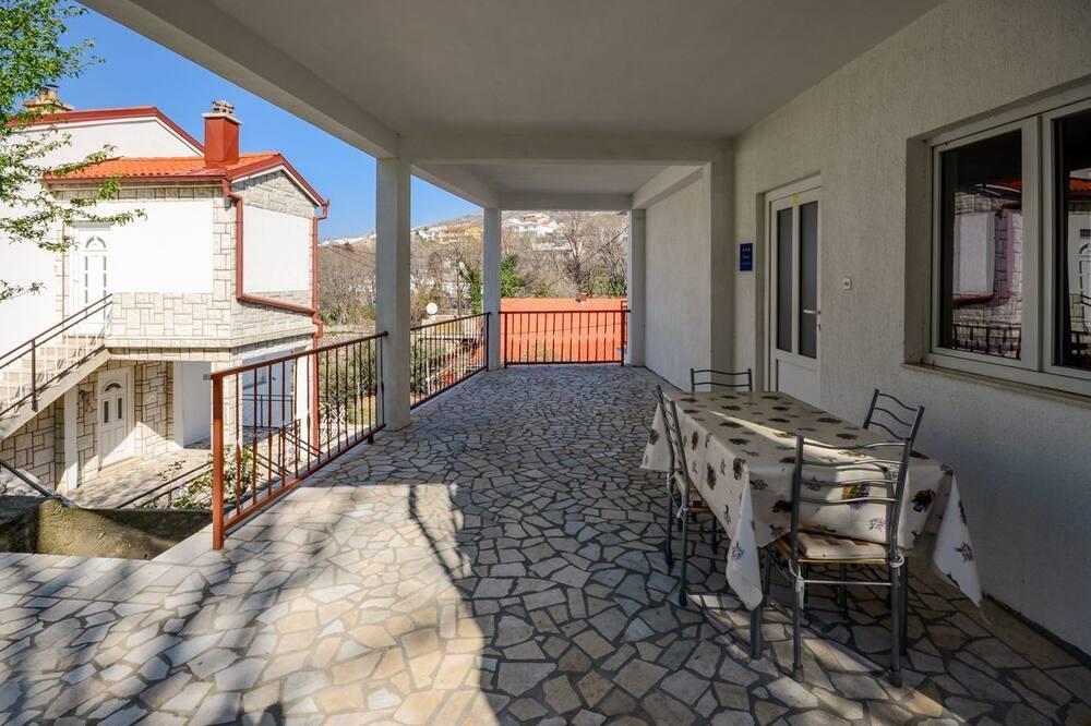 Apartman (A3) - Balkon