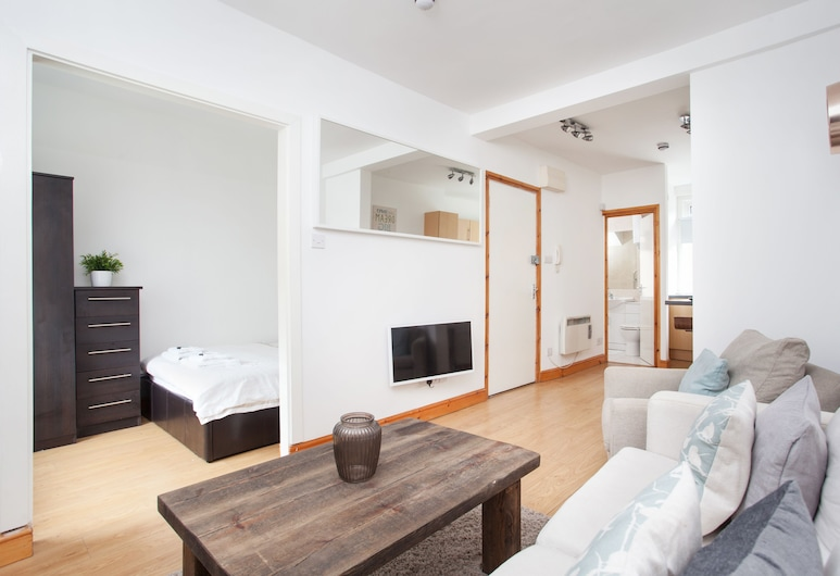 Basic Apartment for Two Amazing Location, London, Basic-lejlighed, Opholdsområde