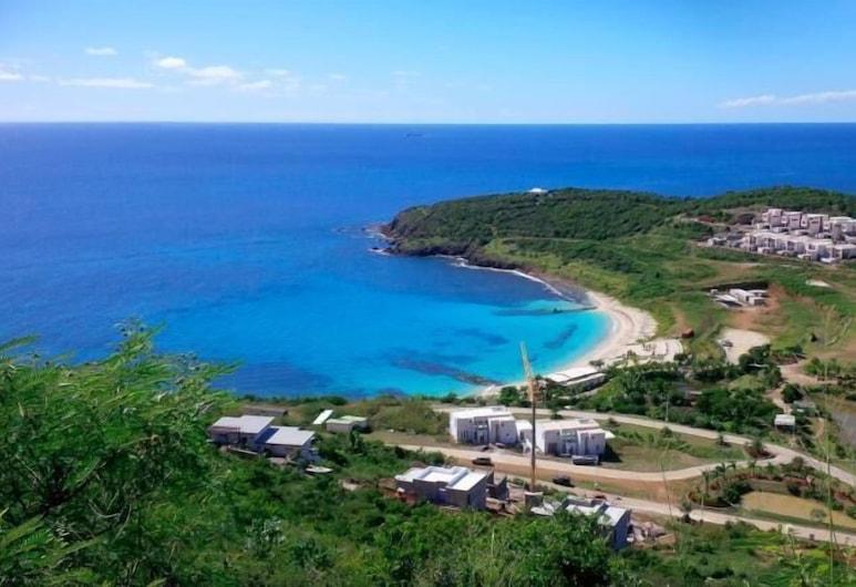 Modern Ocean View Villa, Huge Lap Pool, AC, Free Wifi, Sat TV, Beach Access, Cole Bay, Beach