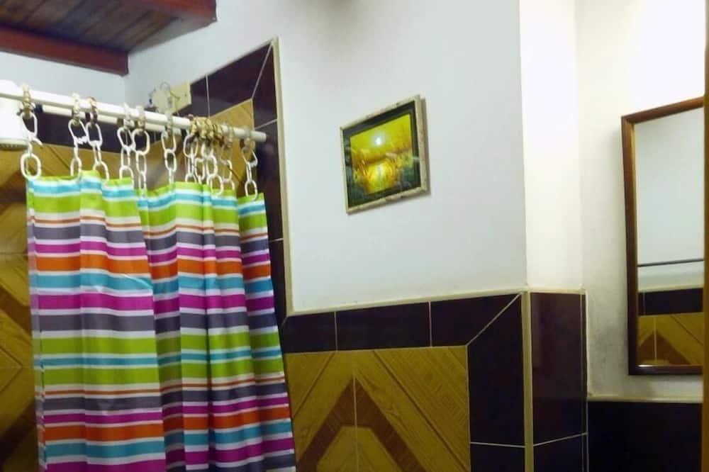חדר דה-לוקס - חדר רחצה