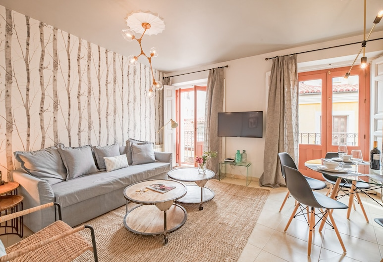 Apto La Latina Plaza Cascorro ECM18, Madrid, Apartment, 2Schlafzimmer, Balkon, Wohnbereich
