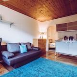 Studio, vue montagne (excl. cleaning fee 70 EUR) - Coin séjour